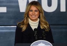 """Melania Trump se despide en un video de siete minutos donde insta """"a escoger el amor sobre el odio"""""""