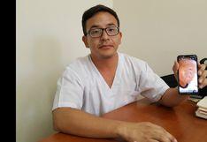 Piura: médicos piden ayuda para niño que sufre extraño mal que llena su cuerpo de escamas