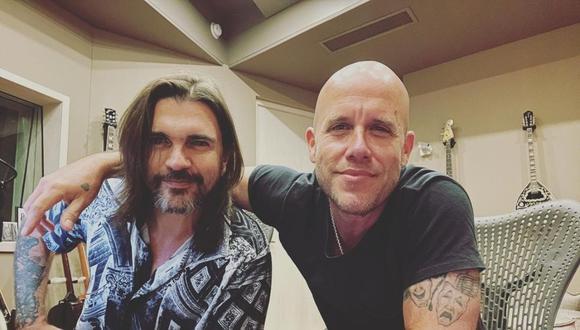 Gian Marco y Juanes se unen para crear nueva canción. (Foto: @gianmarcooficial)