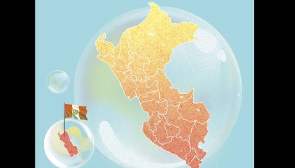 El problema no es vivir en el extranjero, sino encerrarse en una burbuja. Lee la columna de Renato Cisneros. (Ilustración: Kelly Villarreal / Somos)