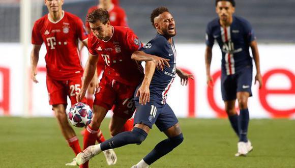 PSG accedió a las semifinales de la Champions League   AFP