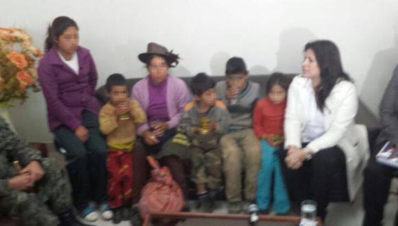 Madre e hijos secuestrados por SL ya están a buen recaudo