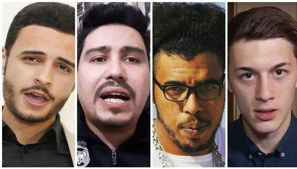 Shady Sorour, Mohamed Sekkaki, Mohamed Munir y Yegor Zhukov cuentan con miles de seguidores en YouTube. (Capatura)