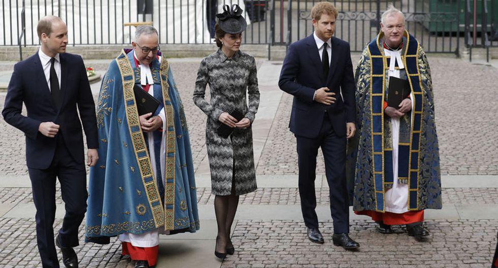 Londres: El tributo de la realeza a las víctimas del terror - 8