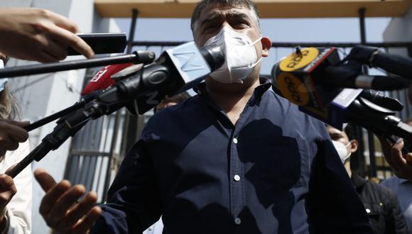 Julio Guzmán consideró que no sorprende que el expresidente Martín Vizcarra recomiende tratamientos sin respaldo científico para combatir el coronavirus.  (Foto: GEC)