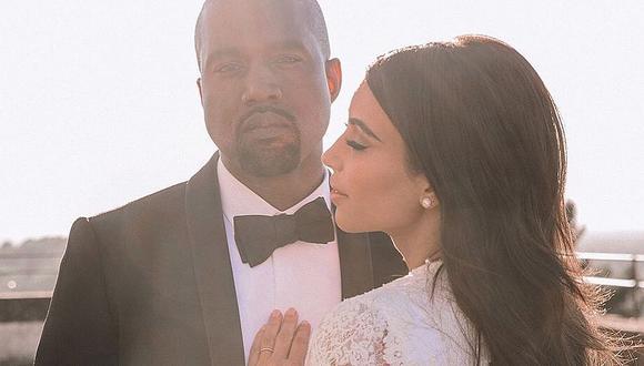 Kim Kardashian demuestra su amor por Kanye West con tierna fotografía. (Foto: @kimkardashian)