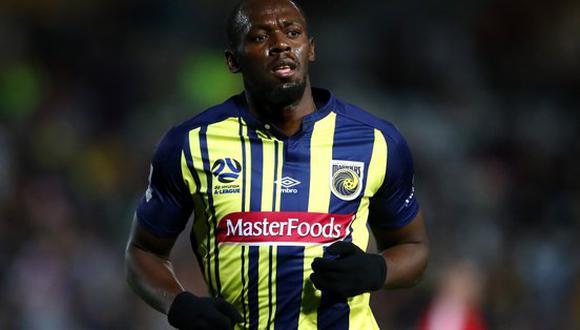 En solo 74' minutos disputados, Usain Bolt realizó seis remates a portería contraria, de los cuales dos acabaron en gol. Momento histórico que fue registrado por YouTube. (Foto: AFP)