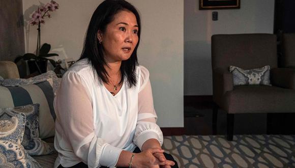 Keiko Fujimori destacó la llegada del primer lote de vacunas contra el coronavirus al Perú. Foto: GEC
