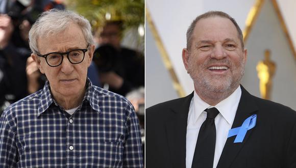 Woody Allen comentó el caso de Harvey Weinstein. (Fotos: Agencias)