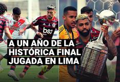 Copa Libertadores: se cumple un año de la histórica final entre River Plate y Flamengo jugada en Lima