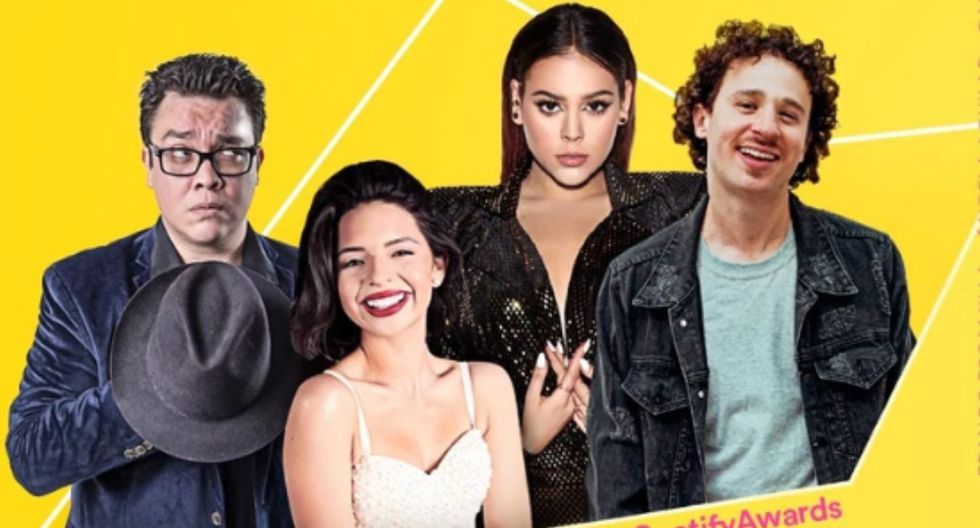 La gala del Spotify Awards tendrá lugar el próximo 5 de marzo en el Auditorio Nacional de la Ciudad de México. (Foto: @SpotifyMexico)