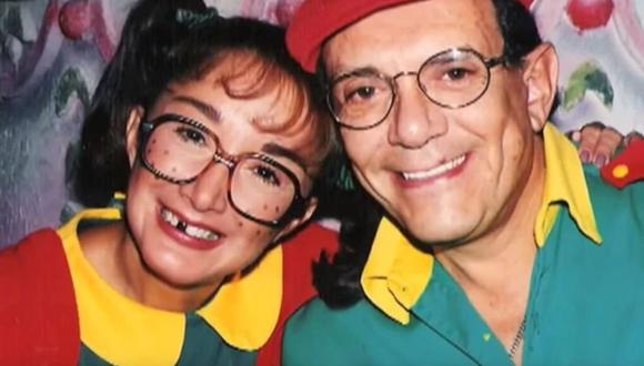 Gabriel Fernández y María Antonieta de las Nieves estuvieron casados 48 años. (Foto: TV Azteca)