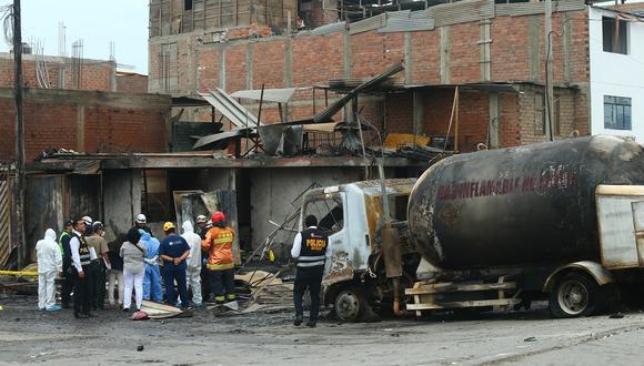 La tragedia en Villa El Salvador hasta la fecha ha dejado 16 personas fallecidas. (Foto: Gonzalo Córdova/GEC)