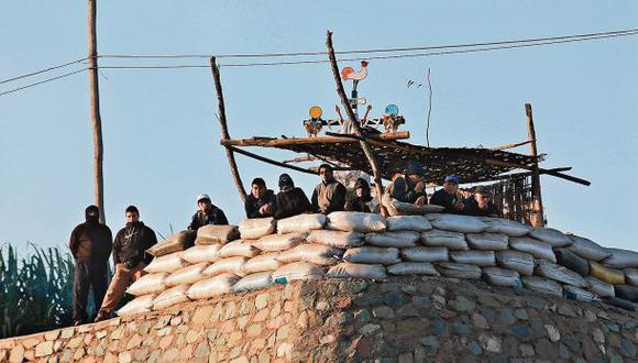 Unas 120 personas armadas buscaban evitar desalojo de Andahuasi