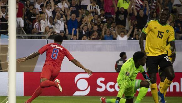 La selección de Estados Unidos venció 3-1 a Jamaica en el Nissan Stadium de Nashville y jugará la final de la Copa Oro contra el combinado mexicano dirigido por el argentino Gerardo Martino. (Foto: AFP)