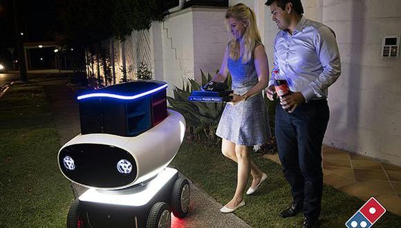 Nueva Zelanda iniciará pruebas de robots repartidores de pizzas