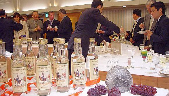 Exportación de pisco alcanzó cifra récord de US$7.9 millones