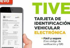 Sunarp: ¿Cómo tramitar la nueva Tarjeta de Identificación Vehicular Electrónica?