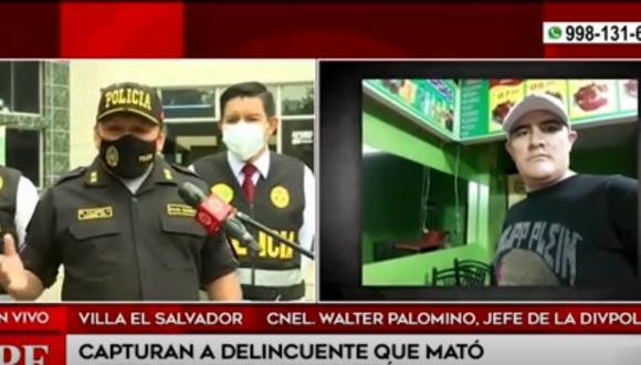 En Villa El Salvador, la Policía logró esta importante captura   América Noticias
