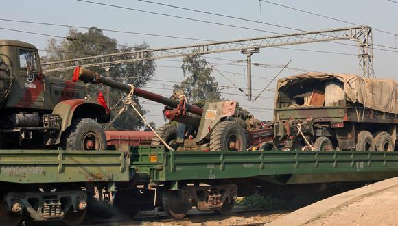 La tensión escala mientras India estaciona sus tanques en la frontera con Pakistán. (Foto: Reuters)