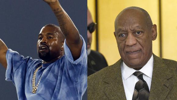 """Kanye West crea polémica en Twitter: """"Bill Cosby es inocente"""""""