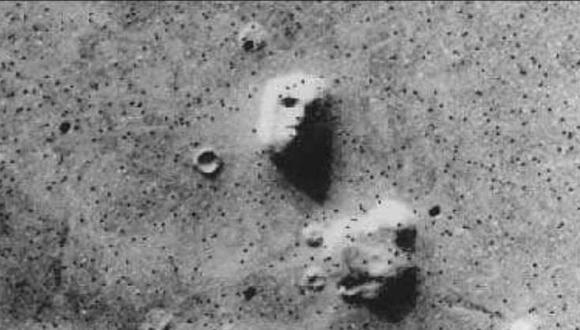 La cara en marte era solo una montaña (Foto: Unsolved Mysteries)