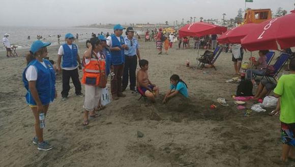 Ancón: multas para quienes lleven alimentos y mascotas a playas