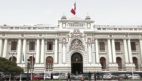 Podemos Perú presentó proyecto para que se modifique el Reglamento del Congreso. (Foto: GEC)