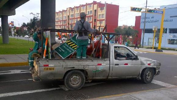 San Borja: ¿Camioneta municipal o combi?