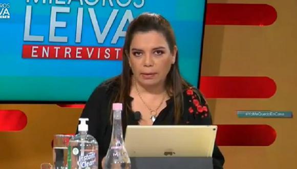 Milagros Leiva confiesa que se le están cayendo sus extensiones y pide que abran salones de belleza   VIDEO