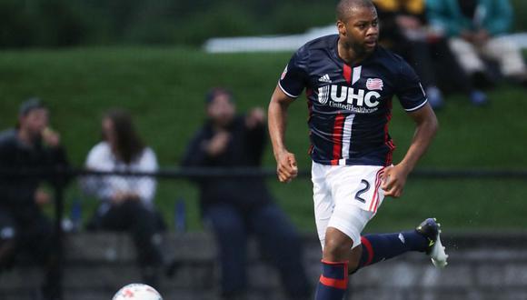 Andrew Farrell milita en el New England Revolution, de la Major League Soccer. (Foto: AFP)