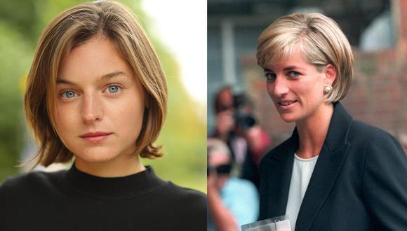 """""""The Crown"""": Emma Corrin es la actriz que dará vida a Lady Diana en la ficción de Netflix (Foto: Instagram)"""