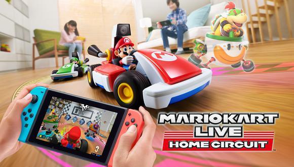 Mario Kart Live: Home Circuit se estrena este 16 de octubre para la Nintendo Switch. (Difusión)