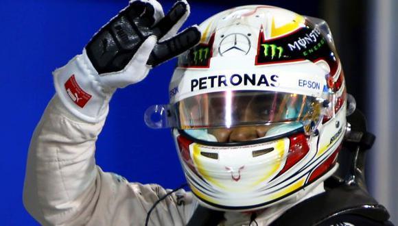 F1: Lewis Hamilton también se quedó con Gran Premio de Bahréin