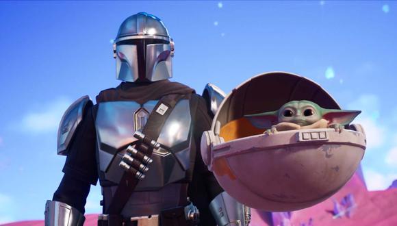 The Mandalorian y Baby Yoda llegan a Fortnite. (Difusión)