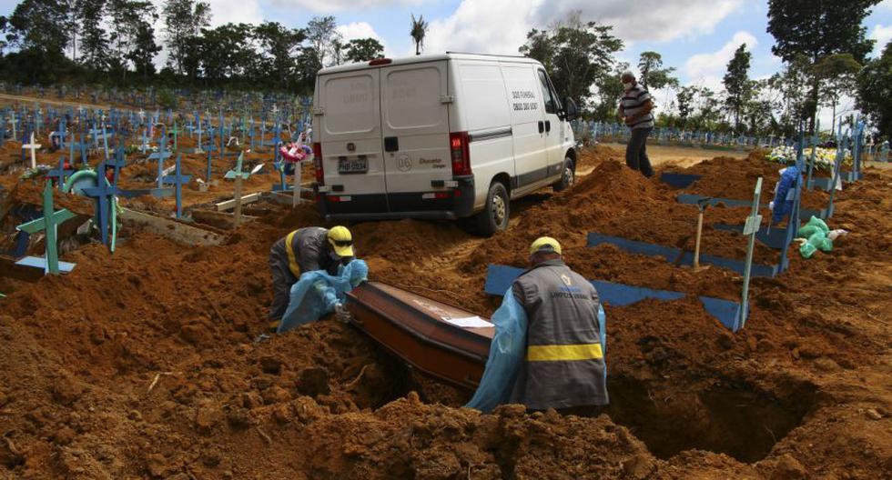 Coronavirus en Brasil | Últimas noticias | Último minuto: reporte de infectados y muertos hoy, viernes 19 de febrero del 2021. (Foto: AP/Edmar Barros).