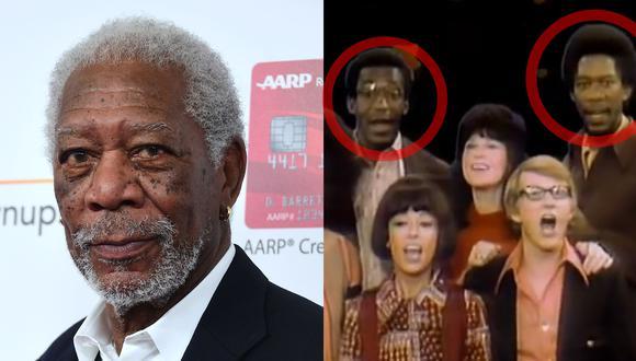 Morgan Freeman y Bill Cosby compartieron la pantalla juntos en un show para niños. (Fotos: AFP/ PBS)
