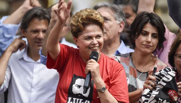 Brasil: Tribunal confirma derecho de Dilma Rousseff a aspirar al Senado (Foto: AFP)