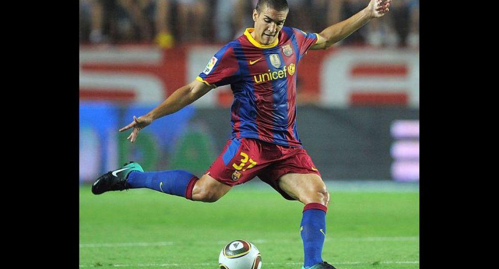 Oriol Romeu fue dirigido por Guardiola en el Barcelona. (Foto: AFP)