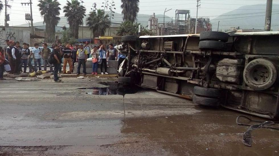 Chosicano con S/.25 mil en multas chocó en Carretera Central - 5