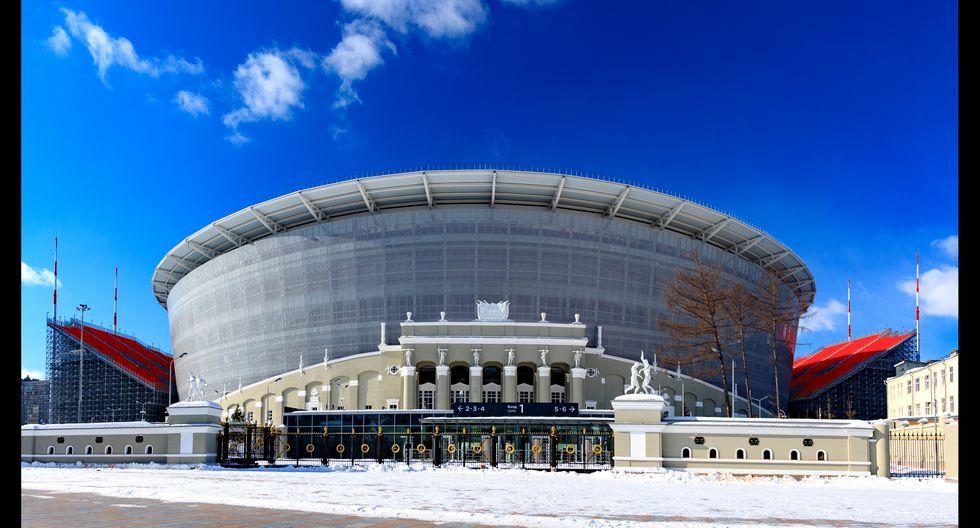 El estadio de Ekaterimburgo tiene capacidad para 42,500 espectadores.  Foto: Shutterstock