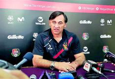 Carlos Bustos fue destituido de su cargo como entrenador de FBC Melgar