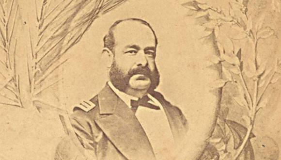 En 1879 muere el Almirante Miguel Grau Seminario en el Combate Naval de Angamos, durante la Guerra del Pacífico. (Foto: Andina)