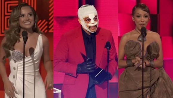 Becky G, The Weeknd y Doja Cat son algunos de los ganadores de los AMAs 2020 (Fotos: TNT)