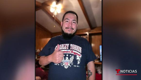 Charley Torres falleció a los 35 años de coronavirus en Texas, Estados Unidos. (Captura de pantalla/Telemundo Noticias).