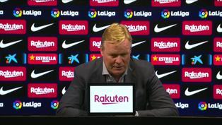 """Ronald Koeman tras la derrota en el clásico: """"Hemos demostrado que no somos inferiores al Madrid"""""""