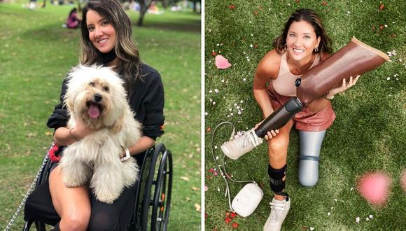 Daniella Alvarez, ex Miss Colombia, muestra en su Instagram cómo mejora su equilibrio y recupera habilidades, como el baile, tras perder una pierna. (Foto: Instagram / @danielaalvareztv).