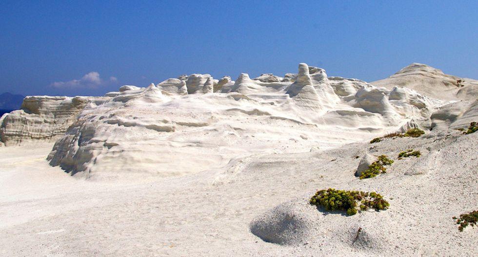 Paisaje lunar: Conoce la playa Sarakiniko en Grecia - 2