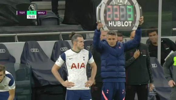 Gareth Bale debutó con Tottenham en la Premier League. (Foto: ESPN)