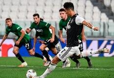 Juventus vs. Atalanta: Cristiano Ronaldo convirtió el 1-1 desde el punto penal | VIDEO